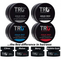 Quality hair wax in different fruity...
