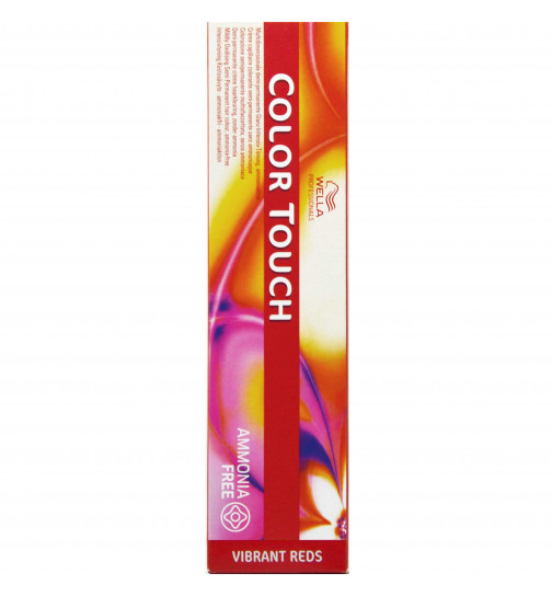 Wella Color Touch Vibrant Reds - 66/45 DUNKELBLOND INTESIV ROT-MAHAGONIE