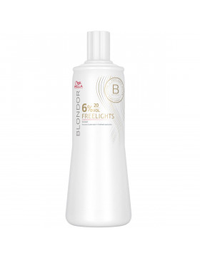 Wella Blondor Freelights Oxyd 6% - 1000 ml Für Präzise...