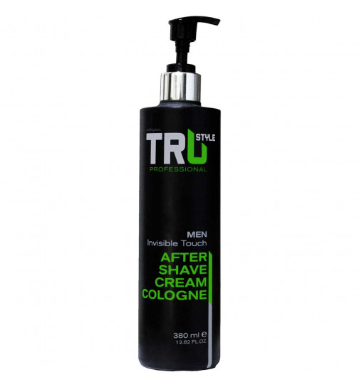 Tru Professional After Shave Cream Cologne Invisible Touch - 380ml