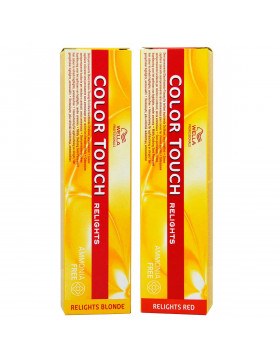 Wella Relights Blonde &- Red Color Touch Haarfarben,...