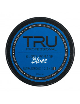TRU Professional Gloss Pomade Blues Ultra Strong [6] - 150ml