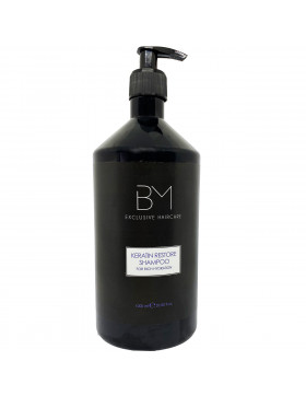 B&M Exclusive Haircare Keratin Restore Shampoo - 1000ml