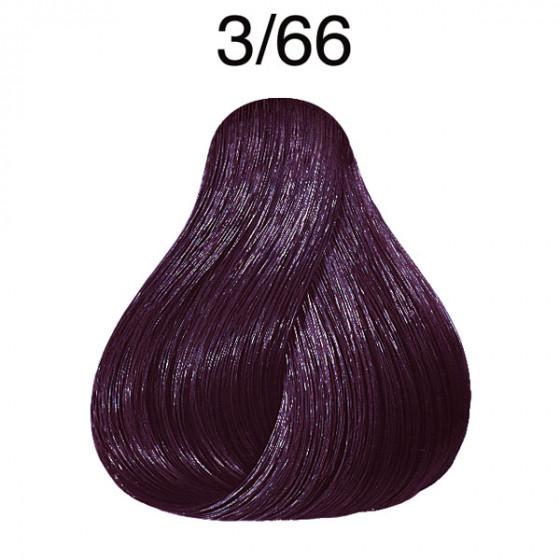 3/66 dunkelbraun violett-intensiv